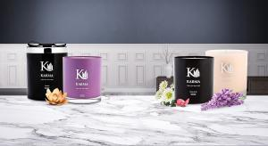 luxury candles in a banner