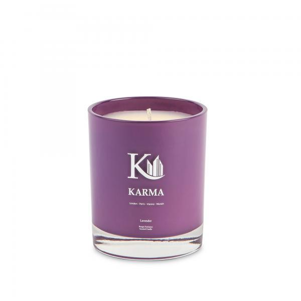 Lavender Scented Candle Karma Luxury Candles